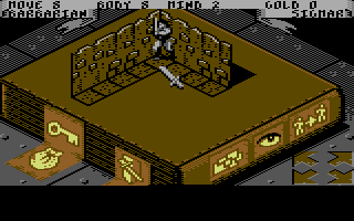 HeroQuest Commodore 64 First Quest: The Maze