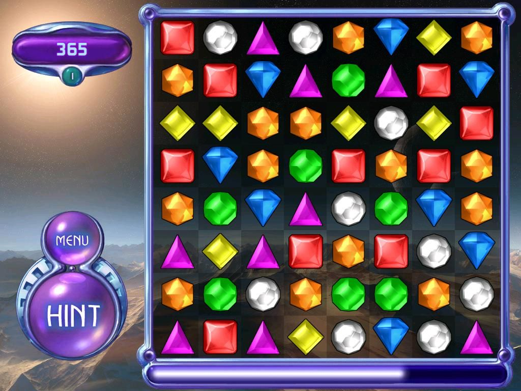 Bejeweled 2: Deluxe Windows classic mode