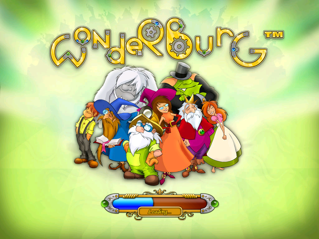 Wonderburg Windows Loading screen
