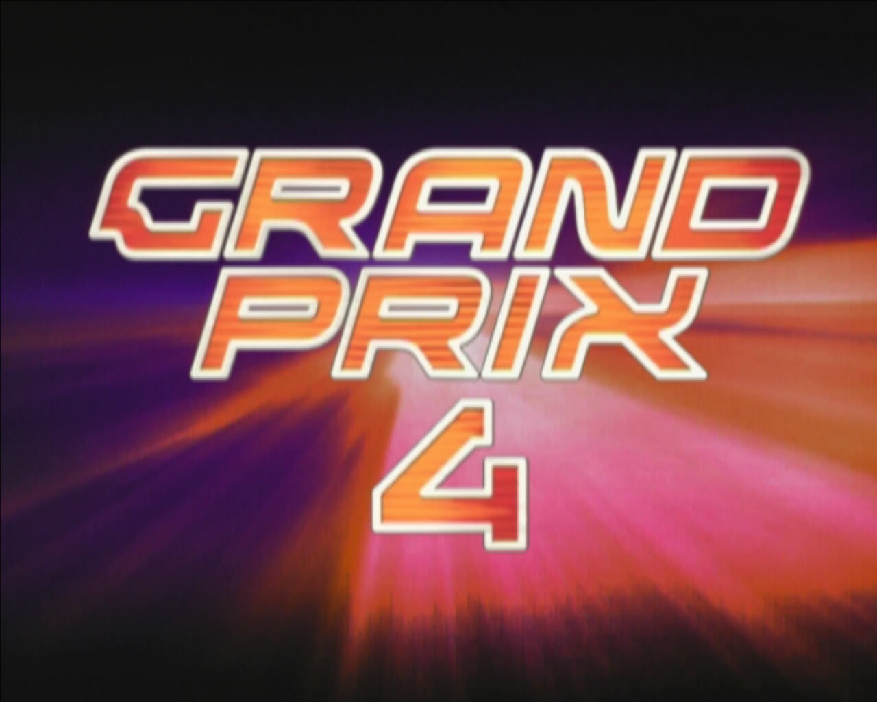 Grand Prix 4 Windows Title screen.