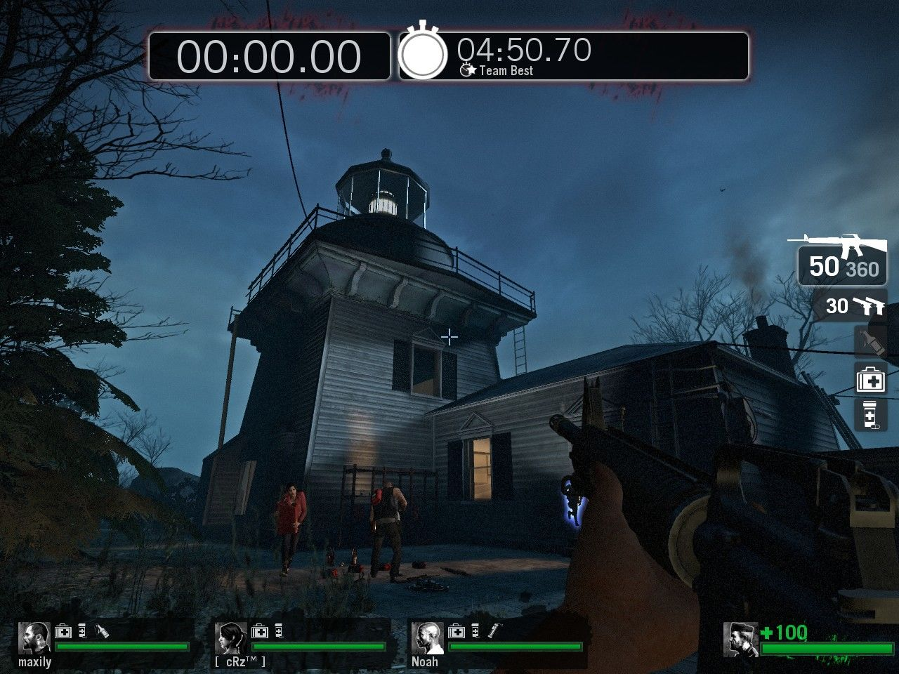 Left 4 Dead Windows 'The Last Stand' is a completely new map for survival mode play, set at a remote lighthouse.