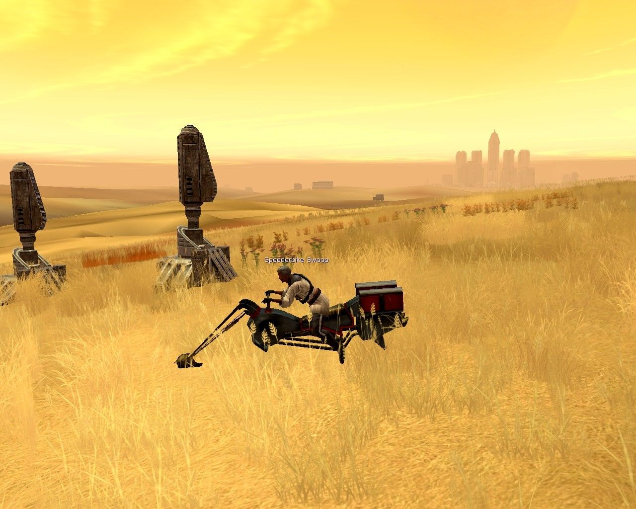 Star Wars: Galaxies - An Empire Divided Windows The plains of Corellia. The capital city, Coronet, looms in the distance.
