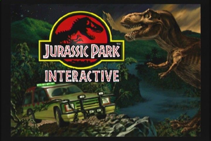 Jurassic Park Interactive 3DO Title screen