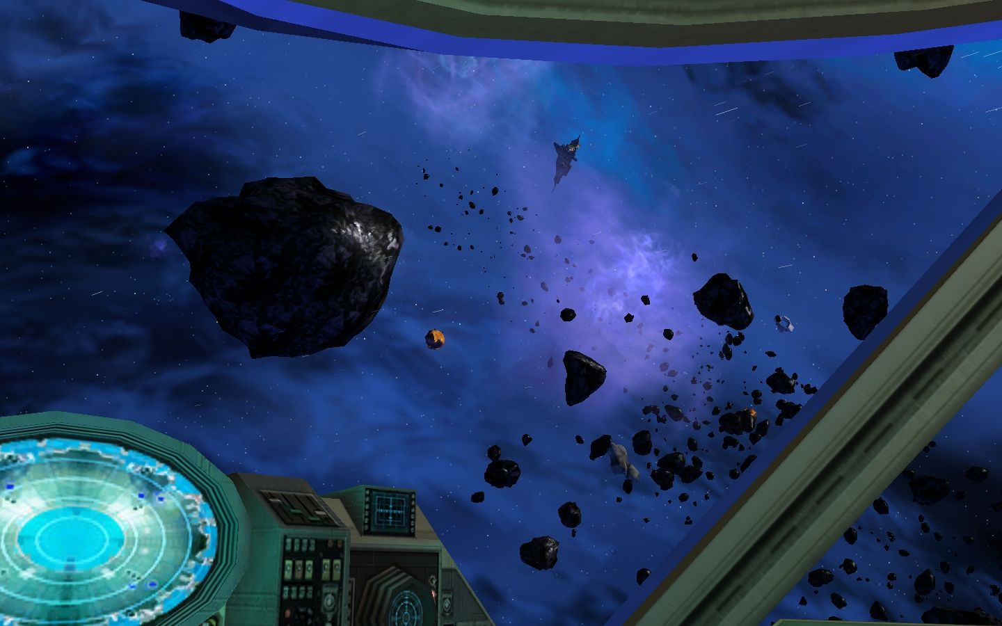 Star Wars: Galaxies - Jump to Lightspeed Windows Heavy asteroid field in the Karthakk system.