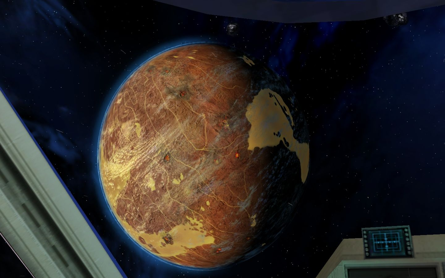 Star Wars: Galaxies - Jump to Lightspeed Windows Planet Lok, in the Karthakk system.
