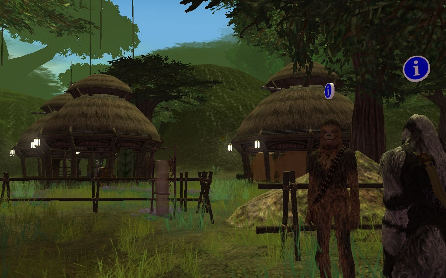 Star Wars: Galaxies - Episode III Rage of the Wookiees Windows Kachirho village