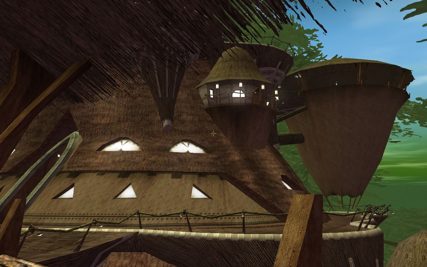 Star Wars: Galaxies - Episode III Rage of the Wookiees Windows Treetop platforms and houses