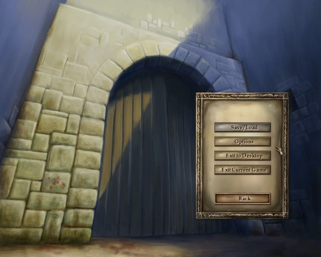 Lords of the Realm III Windows Secondary Menu