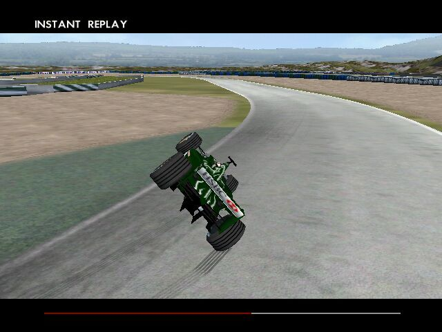 F1 2002 Windows Brakes! I forgot to brake