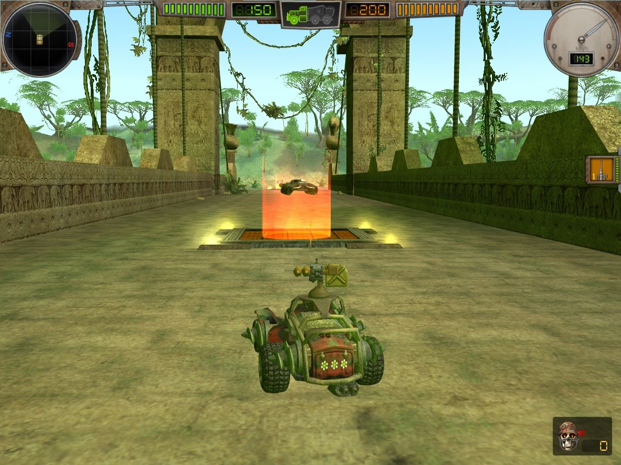 Hard Truck: Apocalypse - Rise of Clans Windows The multiplayer modes offer a more 'arcade' style experience, with weapons and power-ups scattered around.