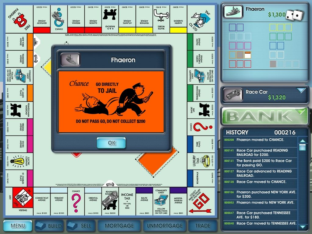 Monopoly 2008 Windows The infamous card