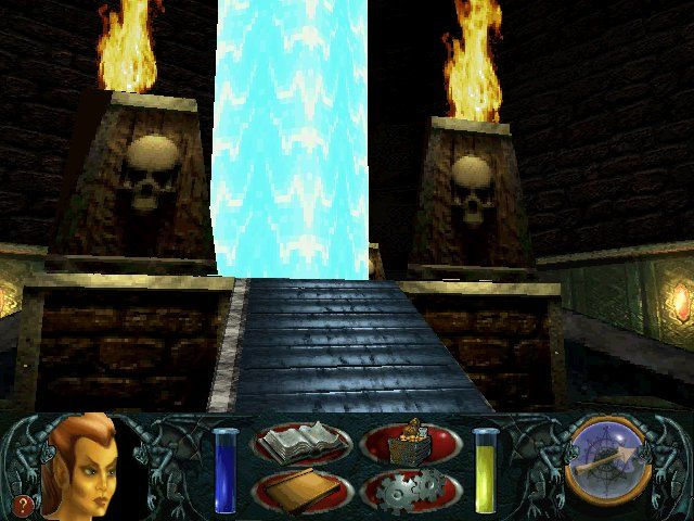 An Elder Scrolls Legend: Battlespire DOS A magic portal