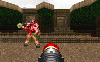 DOOM DOS Never give up!..