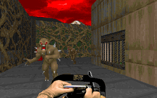 DOOM DOS Primitive weapon but really fun!