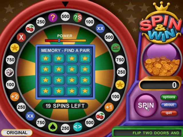Spin & Win Screenshots for Windows - MobyGames