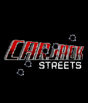 Car Jack Streets J2ME Title screen