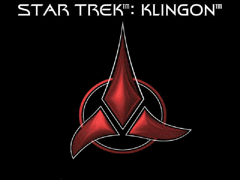 Star Trek: Klingon Windows Installation background