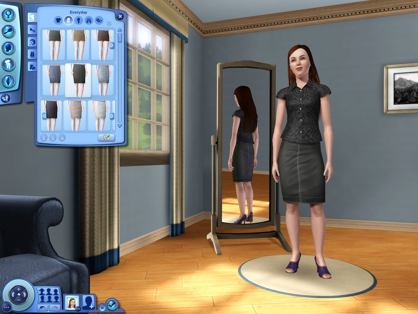 The Sims 3 Windows Character Creation