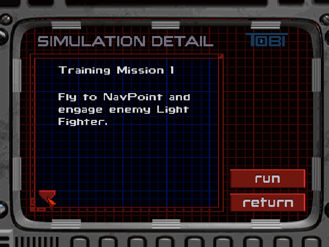 Wing Commander III: Heart of the Tiger PlayStation Starting up simulator