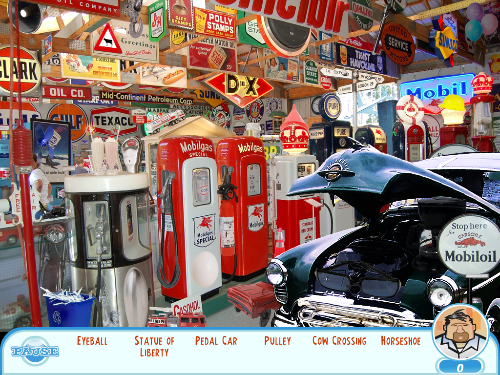 Something Special: Zoe's American Adventure Windows Car memorabilia store