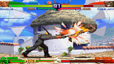 Street Fighter Alpha 3 Max Screenshots For Psp Mobygames
