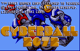 Cyberball Lynx Title screen number 2
