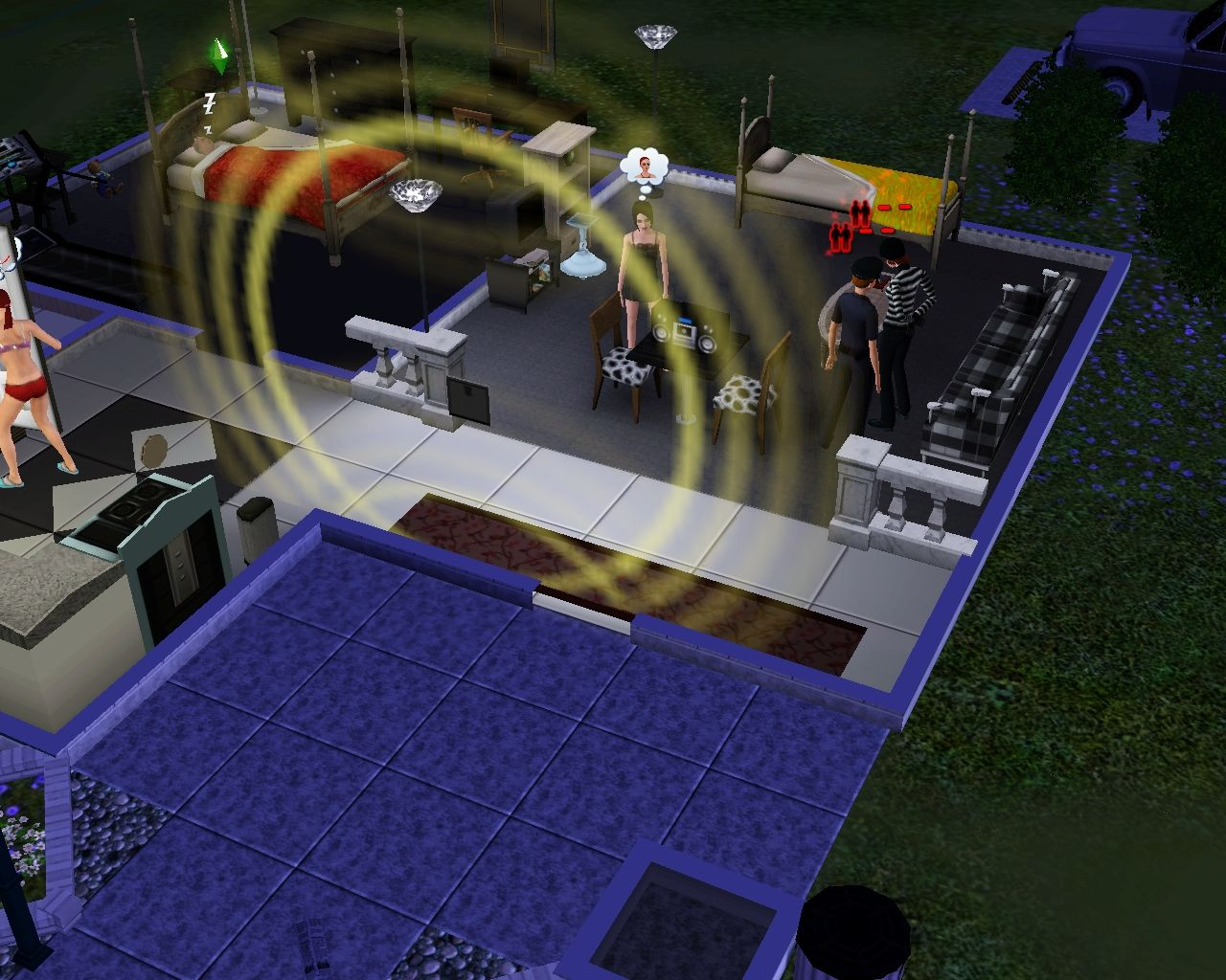 The Sims 3 Windows Someone broke in!