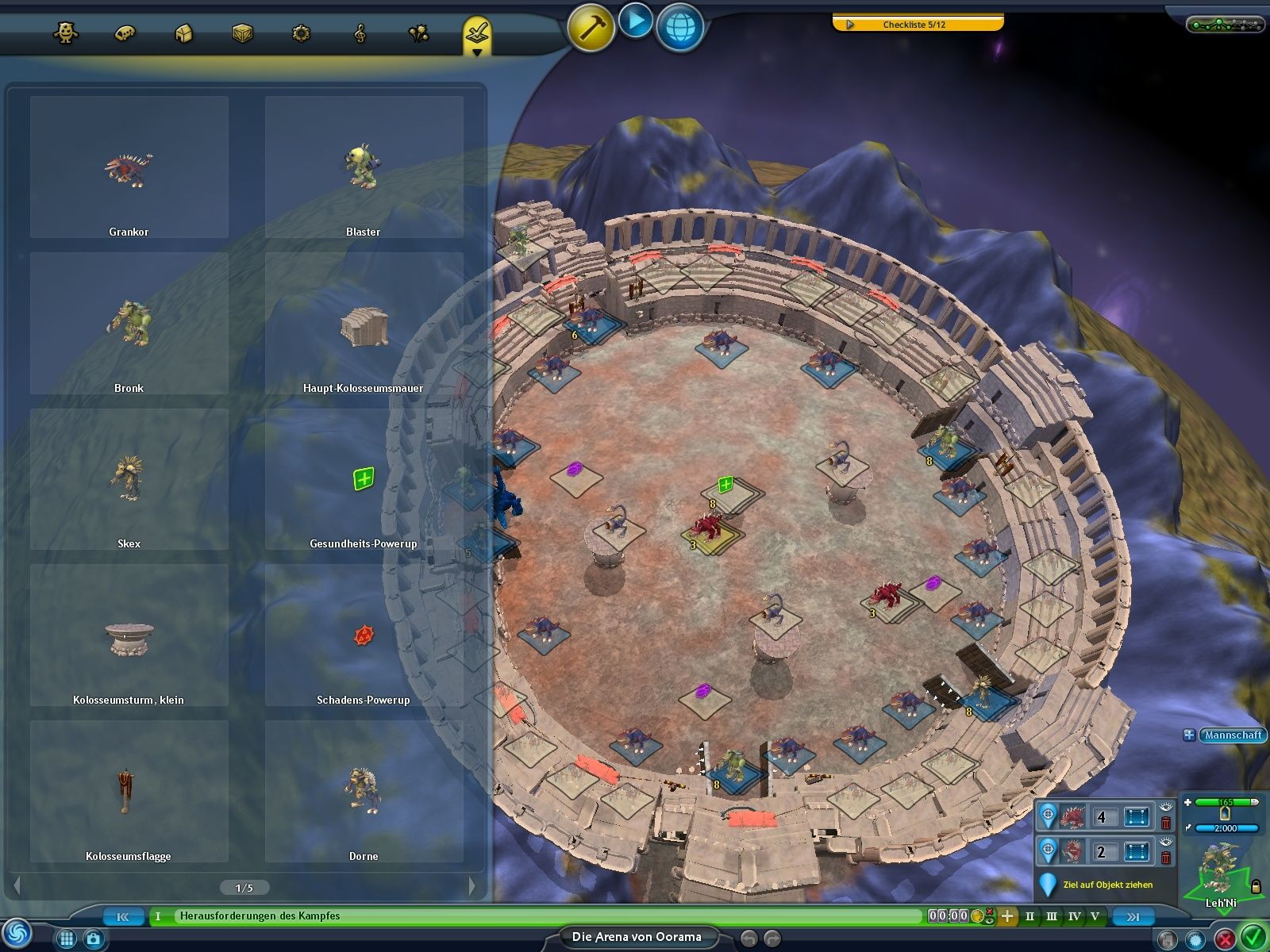 Spore: Galactic Adventures Windows This editor allows you to create new adventures.