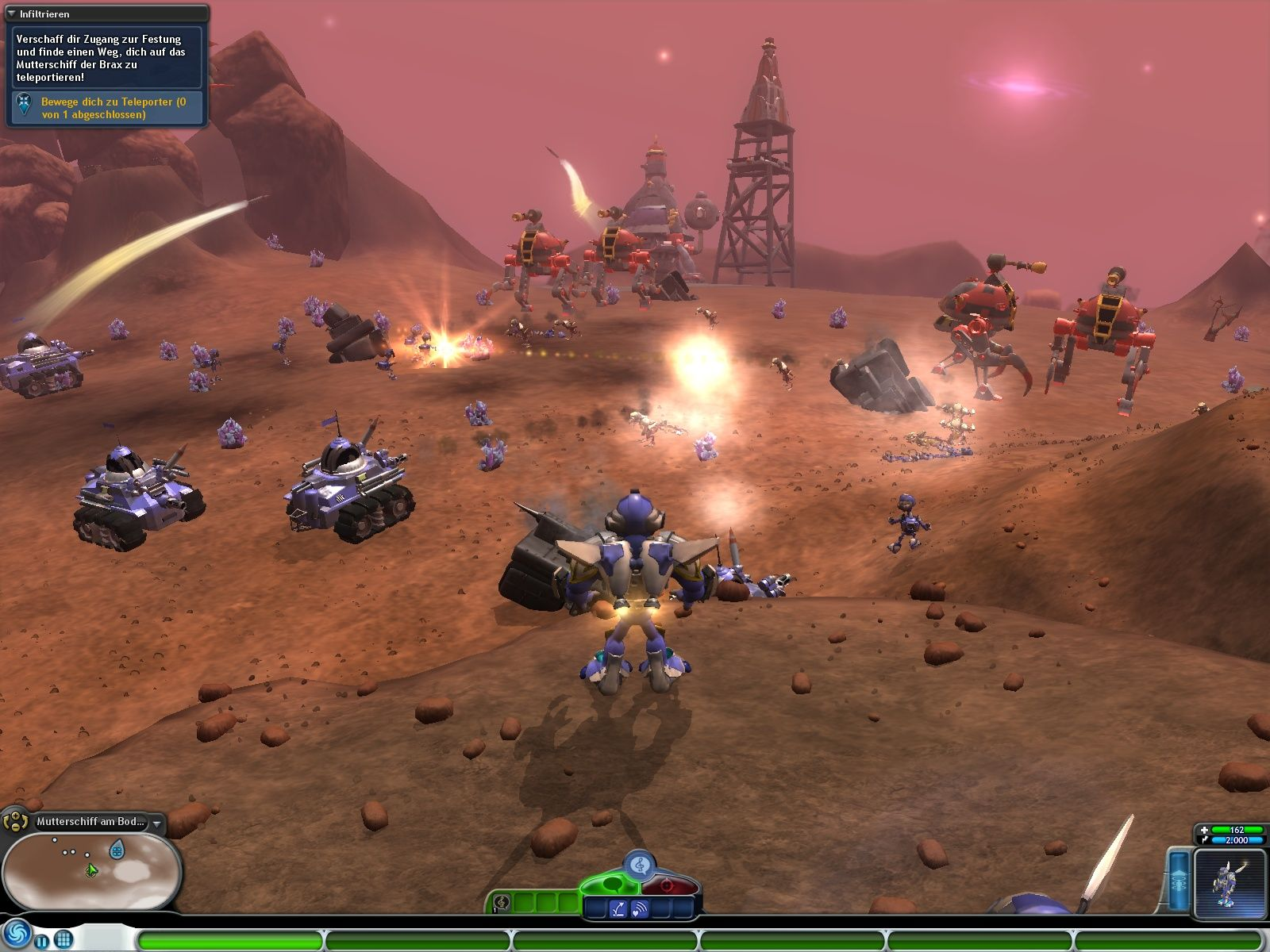 Spore: Galactic Adventures Windows Our army is loosing the battle - we need to do something.