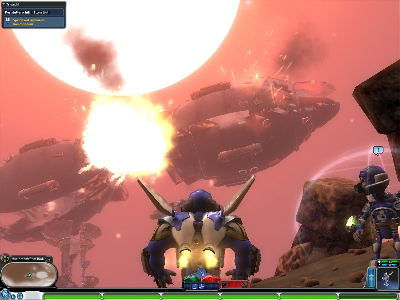 Spore: Galactic Adventures Windows One less mothership to worry about.