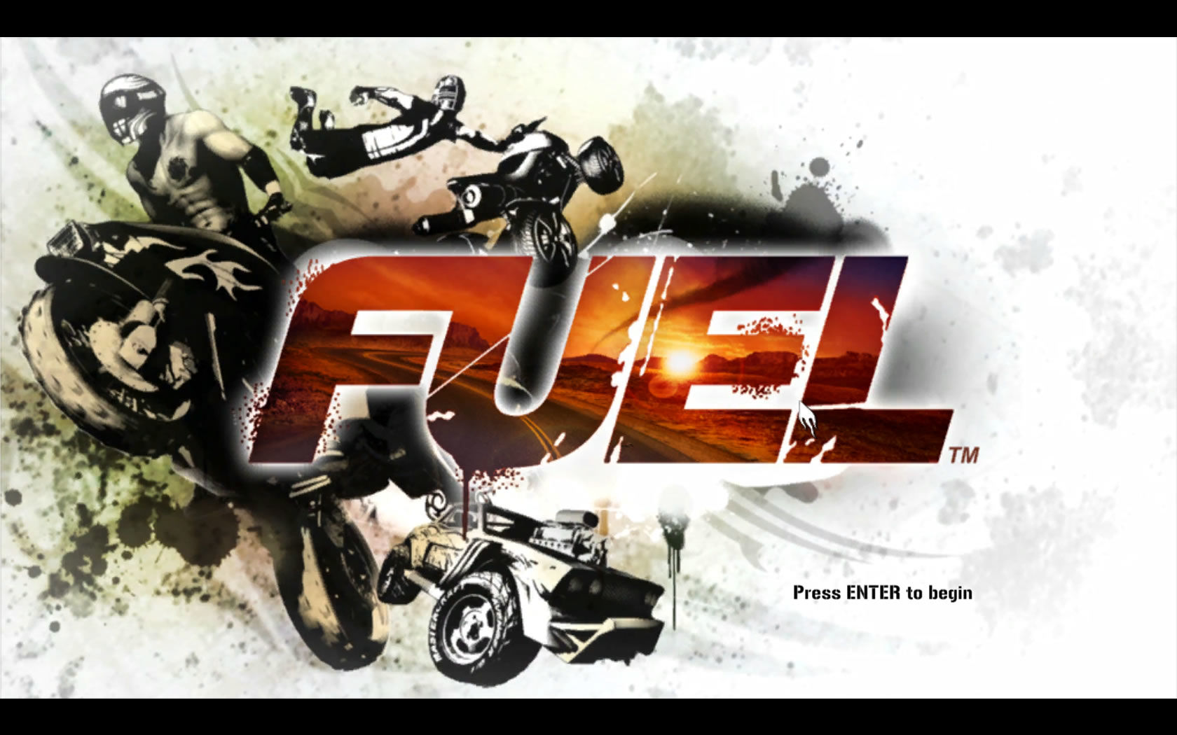 FUEL Windows Title Screen