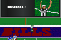 Madden NFL 2002 Game Boy Advance Touchdown!