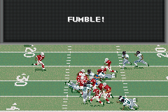 Madden NFL 2002 Game Boy Advance Hold on to that ball tight...