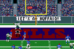 Madden NFL 2002 Game Boy Advance After a big score, expect to see some dancing.