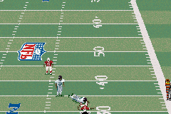 Madden NFL 2002 Game Boy Advance Football is a hard-hitting game...