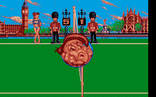 Beach Volley Atari ST You lost