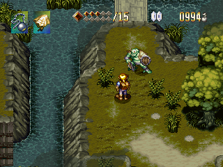Alundra Screenshots For Playstation Mobygames