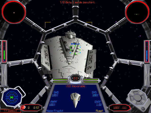 Star Wars  X-Wing Vs  TIE Fighter - Balance of Power Campaigns Windows    X Wing Vs Tie Fighter