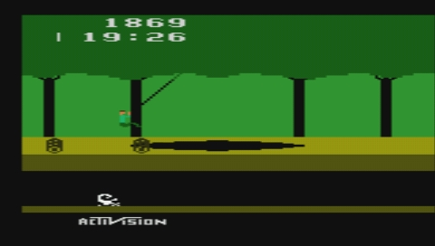 Activision Hits Remixed PSP Pitfall stretched to full screen size