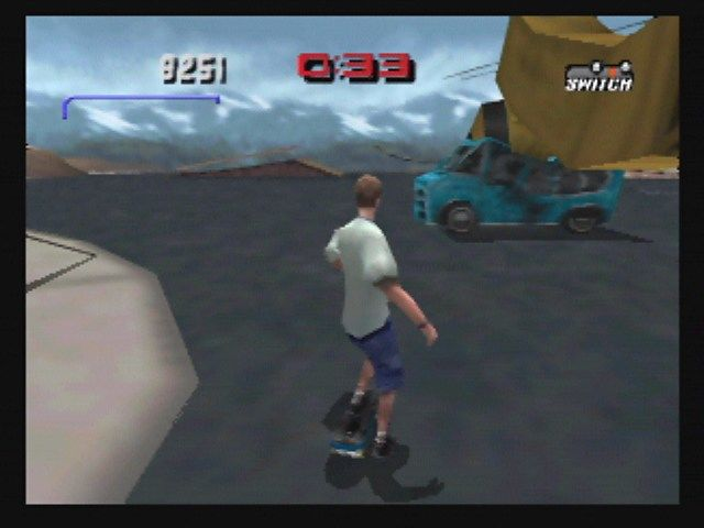 Tony Hawk's Pro Skater 3 Nintendo 64 Ice Cream Truck Destroyed!