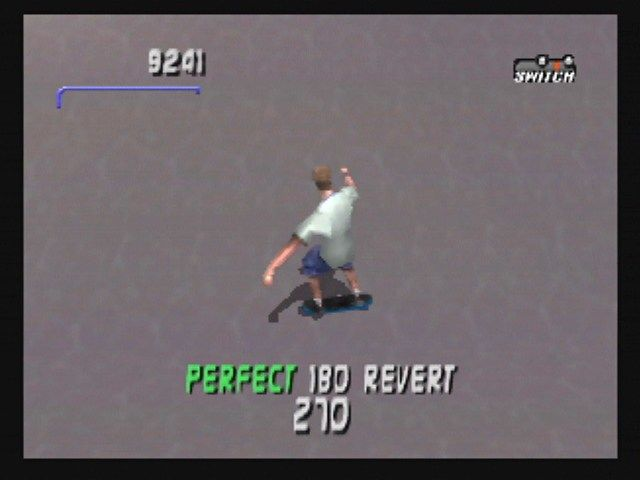 Tony Hawk's Pro Skater 3 Nintendo 64 The revert lets you string more tricks together.