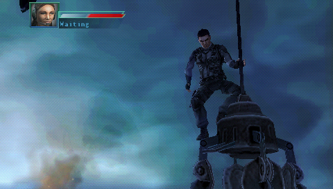 Syphon Filter: Logan's Shadow PSP Gabe on top of the world