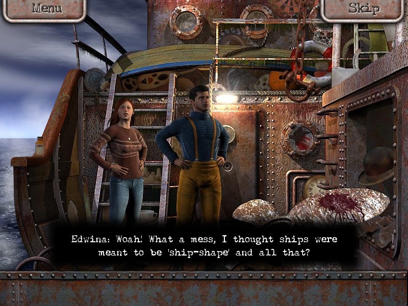 Margrave Manor 2: The Lost Ship Screenshots for Windows