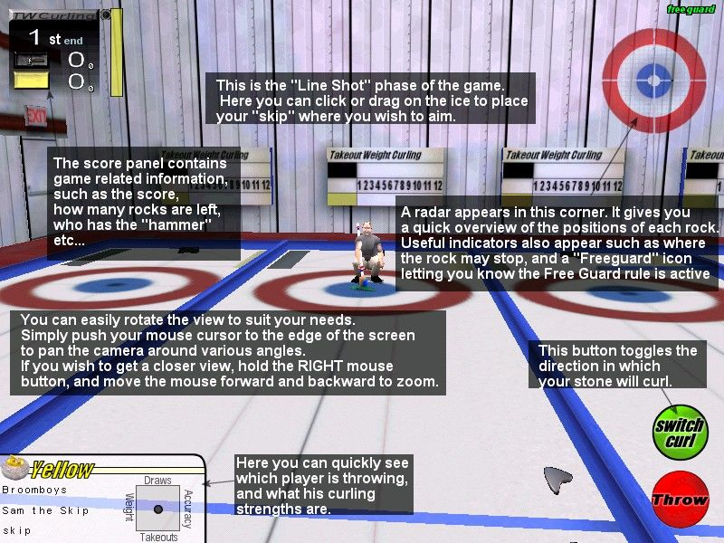 Take-out Weight Curling Screenshots for Windows - MobyGames