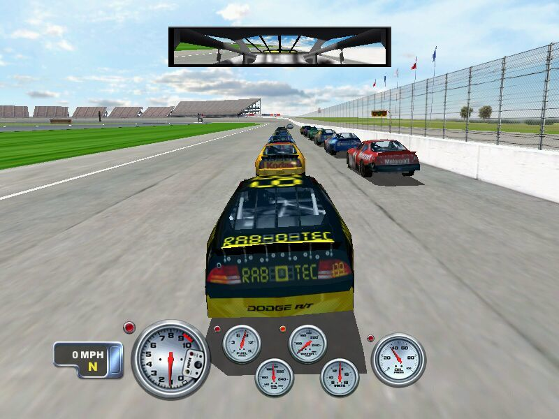 NASCAR Racing 4 Windows Start your engines