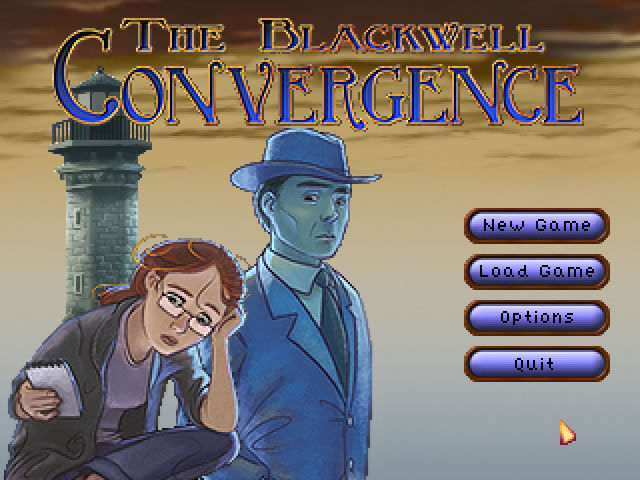 The Blackwell Convergence Windows Main Menu