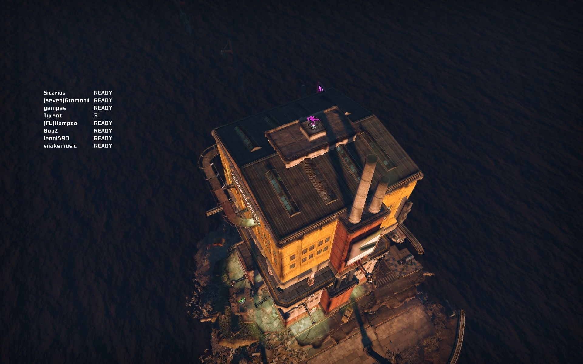 Bionic Commando Windows A multiplayer-match is about to begin on this small island.