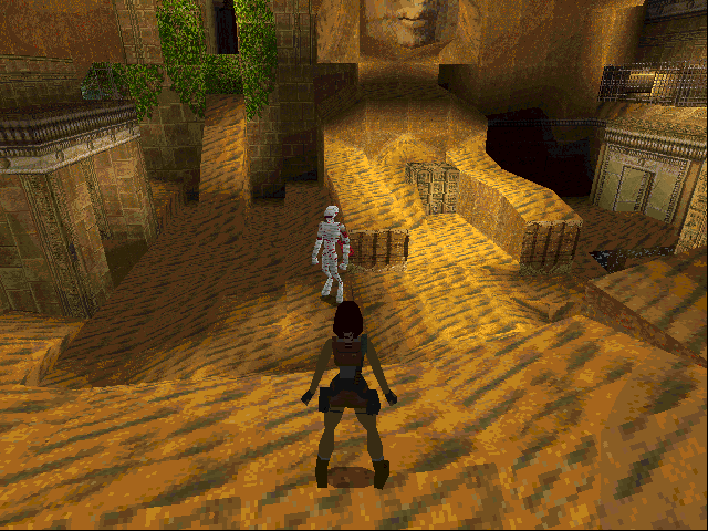 Tomb Raider DOS No trip to Egypt would be complete with seeing one of the living dead