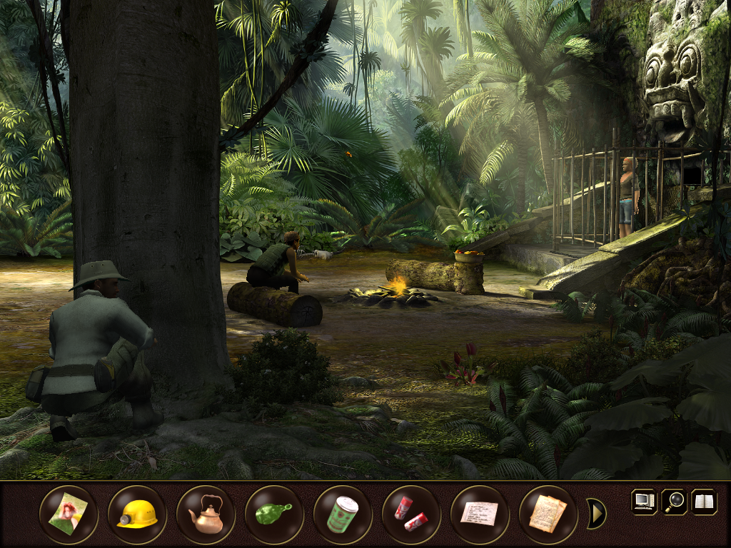 Secret Files 2: Puritas Cordis Windows Indonesian jungle - Trying to free Sam