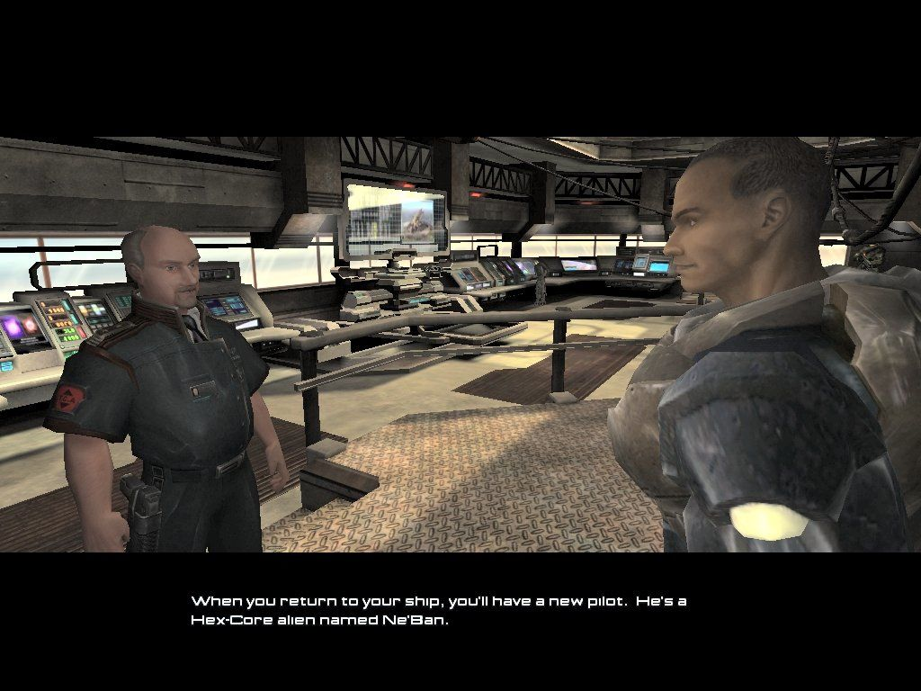 Unreal II: The Awakening Windows This is the first man you meet, who gets you started in the game.